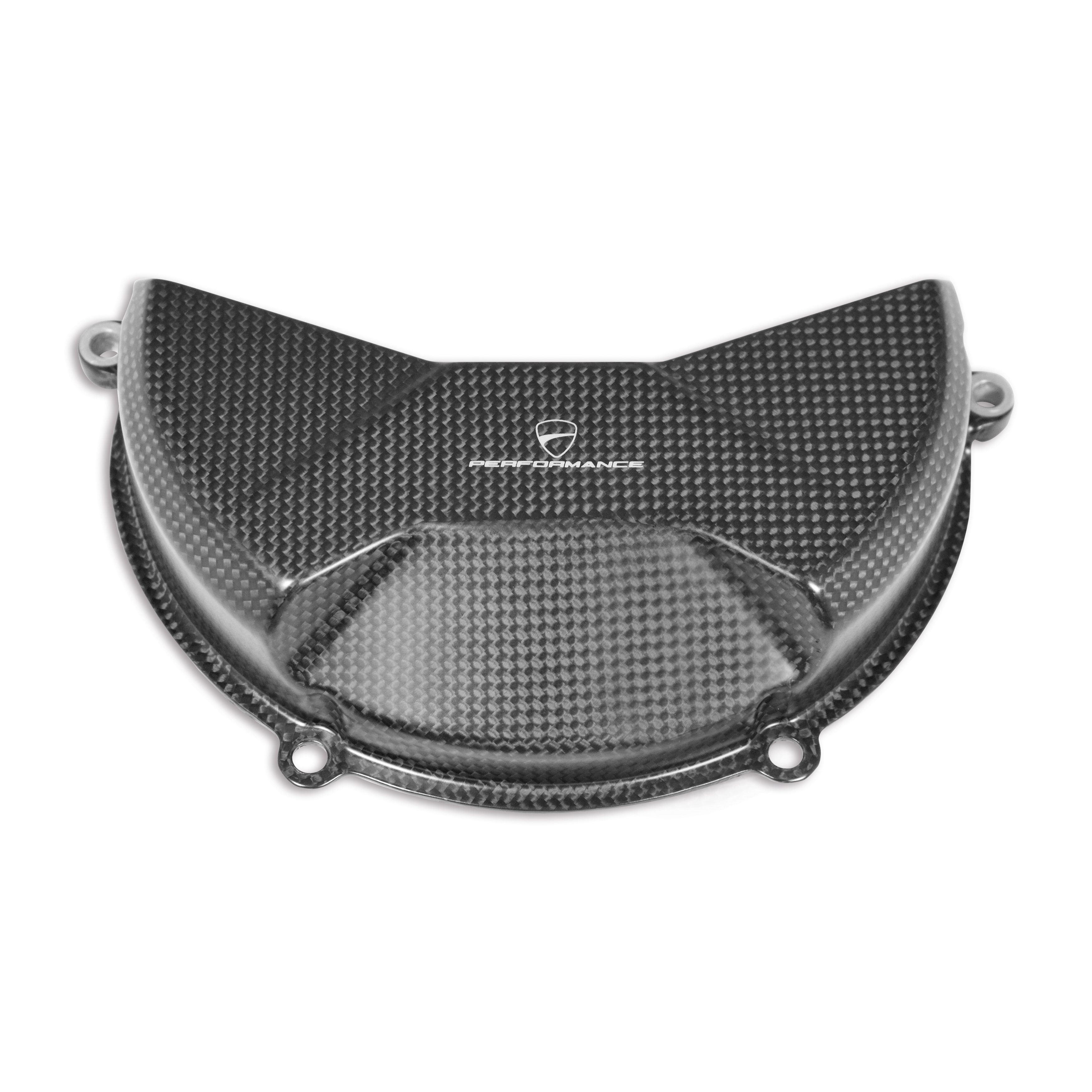 Carbon cover for clutch case.