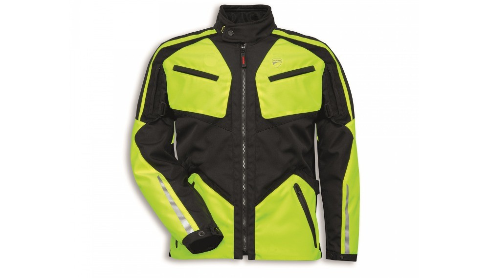Tour HV V2 HV Yellow Fabric Jacket