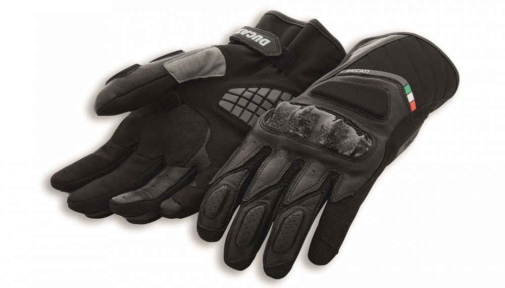 Sport C3 Leather-Fabric Gloves