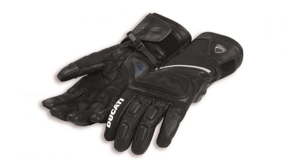 Tour C3 Fabric-Leather Gloves