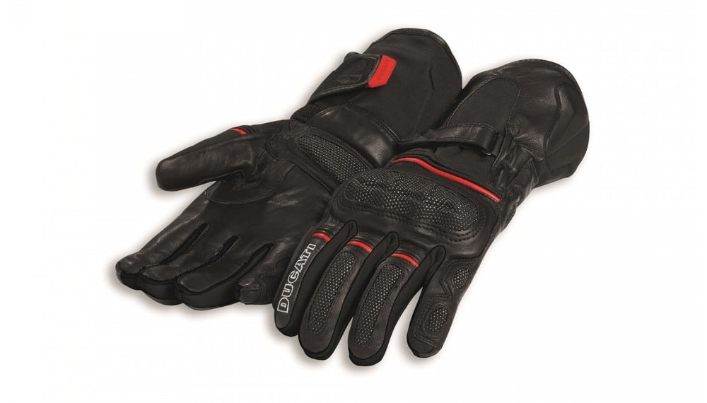 Strada C4 Fabric-Leather Gloves