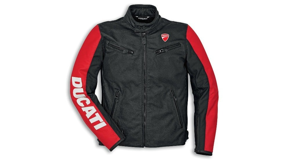 Ducati Company C3 Leather Jacket Male