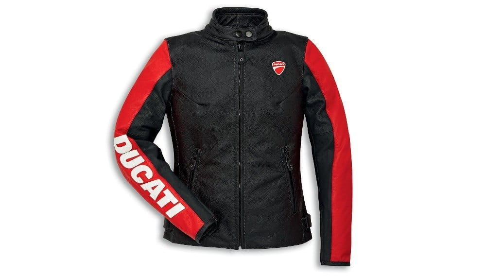Ducati Company C3 Leather Jacket Female
