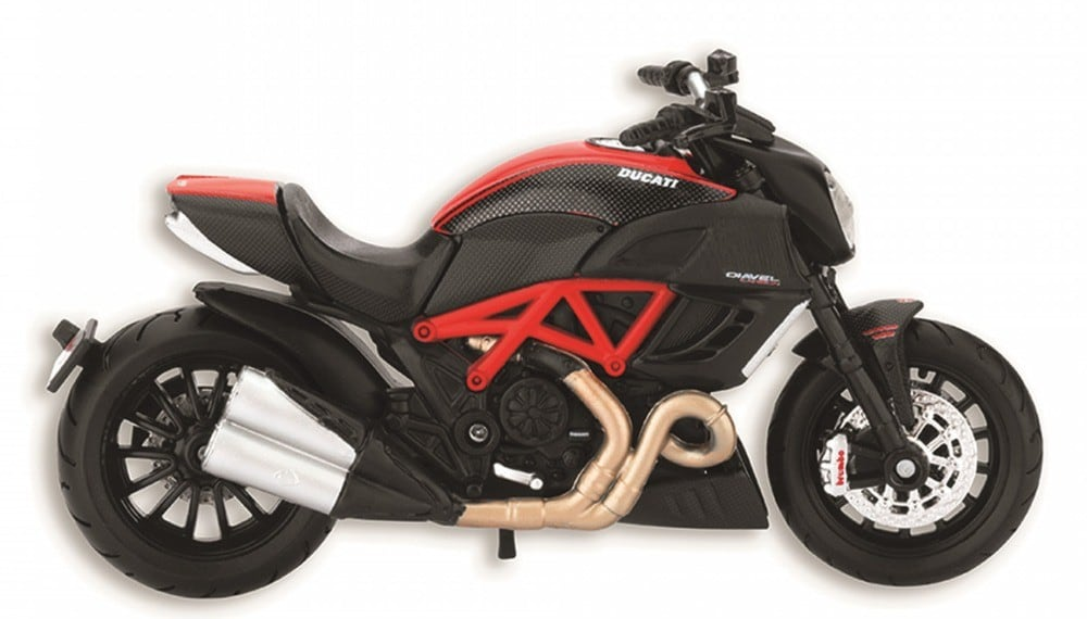 Diavel Carbon 1:18 Bike Model