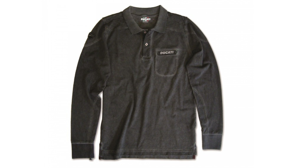 Ducati Metropolitan Long Sleeved Polo Shirt