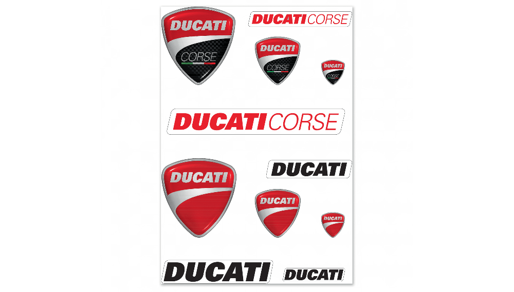 Ducati Mix Stickers