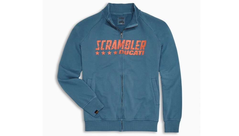 Scrambler Blue Star Sweatshirt