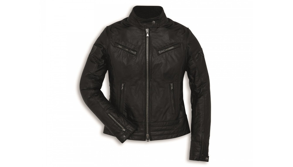 Vintage Woman Leather Jacket