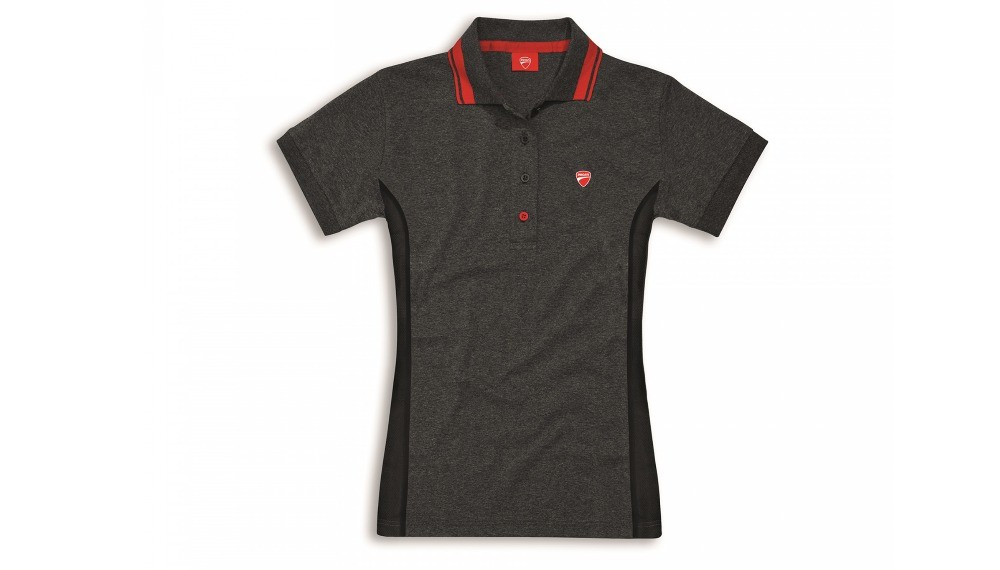 D-Attitude Woman Short-Sleeved Polo Shirt