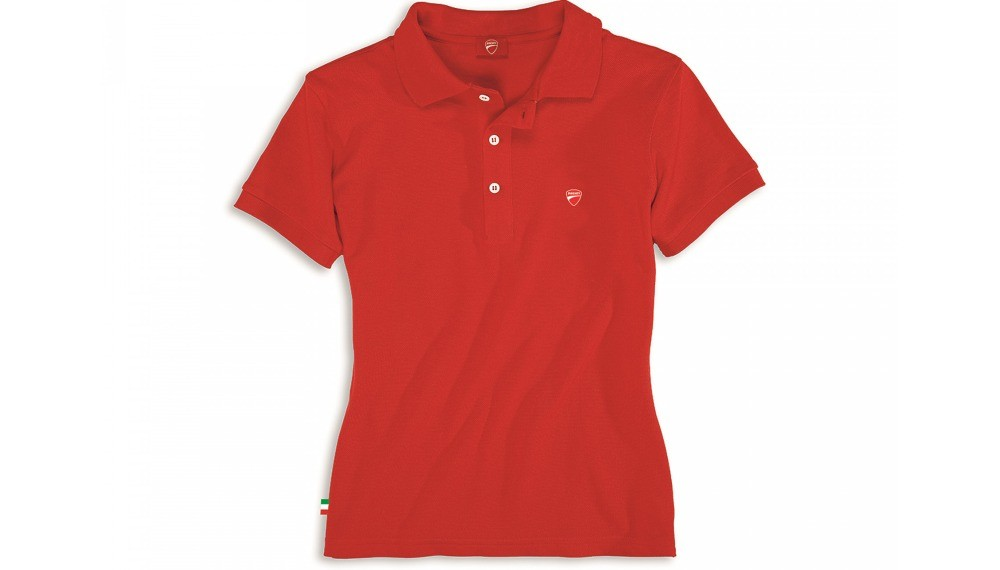 Ducatiana 2 Woman Short-Sleeved Polo Shirt