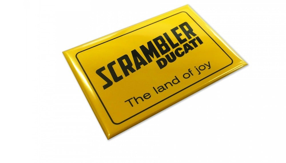 The Land of Joy Magnet