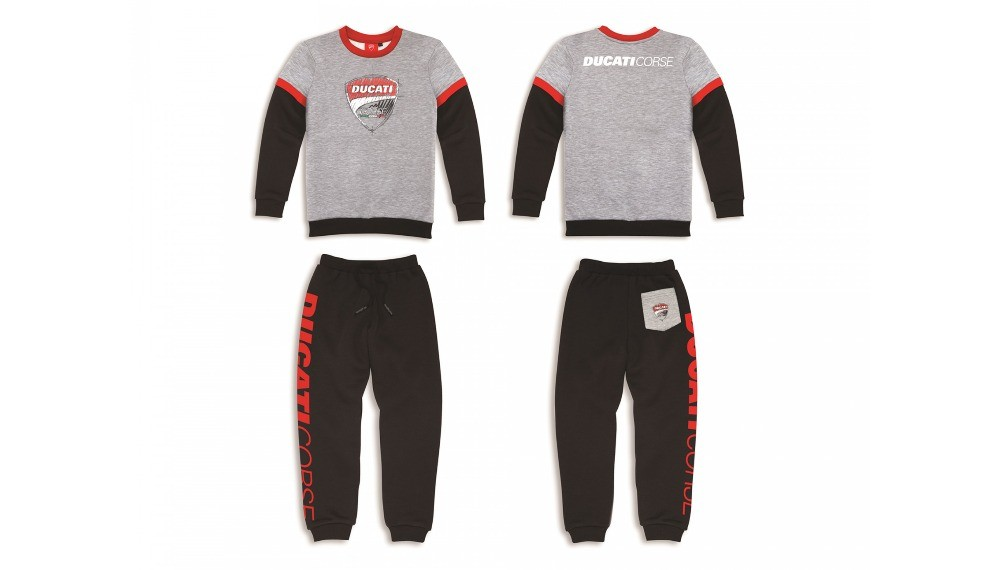 Ducati Sketch Fleece Warm-Up Suit