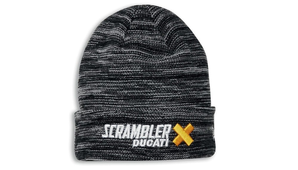 Scrambler Cross One Size Fits All Beanie