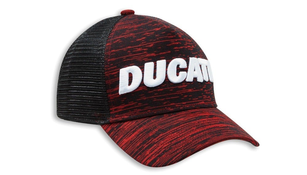 Ducati Scarlett Trucker One Size Fits All Cap