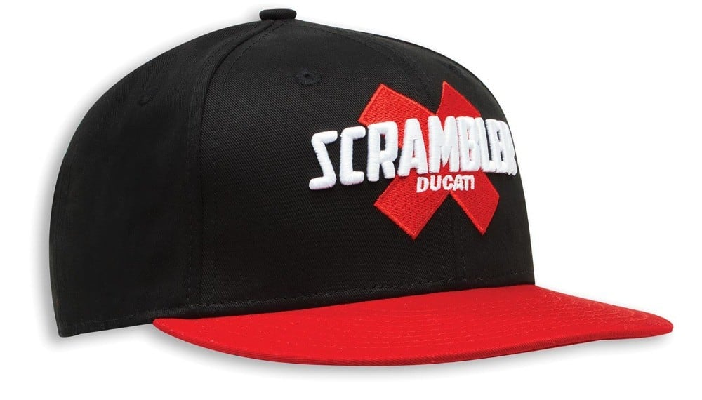 Scrambler Cross One Size Fits All Cap