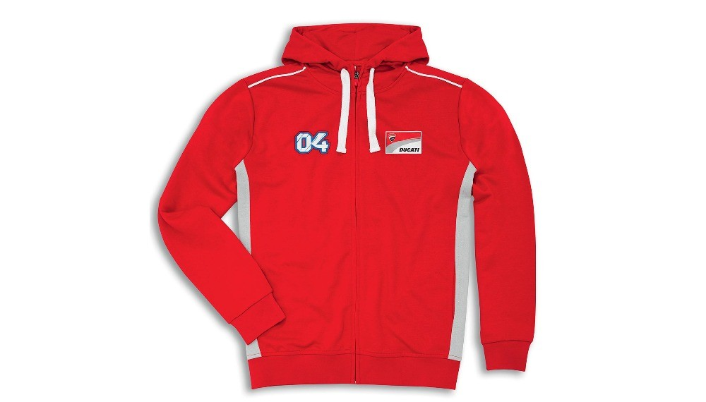 Ducati Corse D04 Hooded Sweatshirt