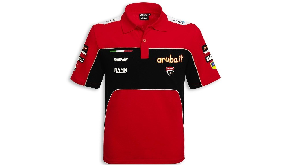 Ducati Corse SBK Team Replica 19 Short-Sleeved Polo Shirt