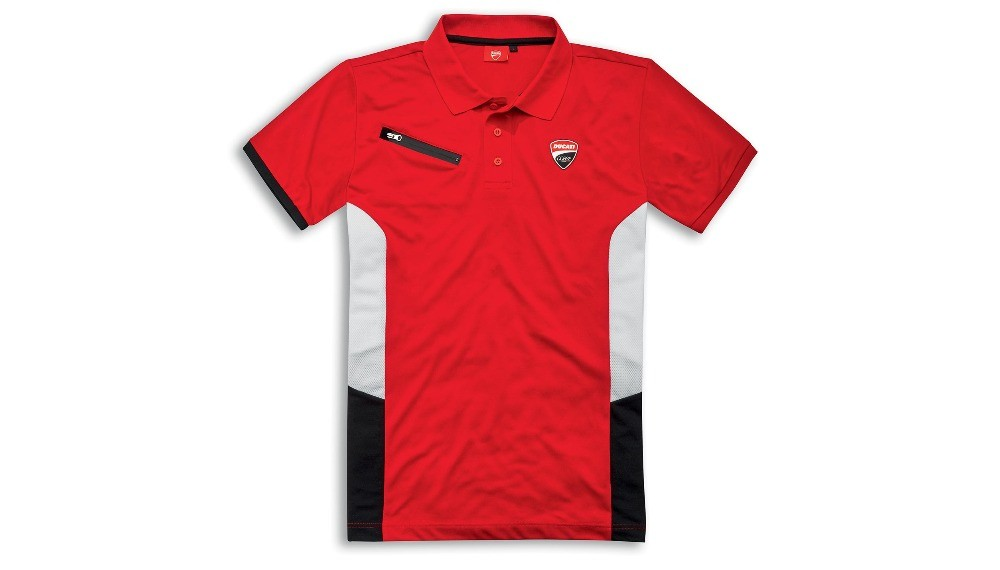 Ducati Corse DC Power Short-Sleeved Polo Shirt
