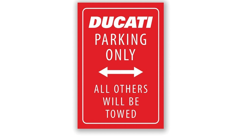 Ducati Parking Magnet
