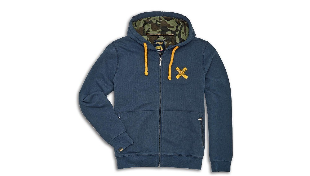 Scrambler Cross Hooded Sweatshirt