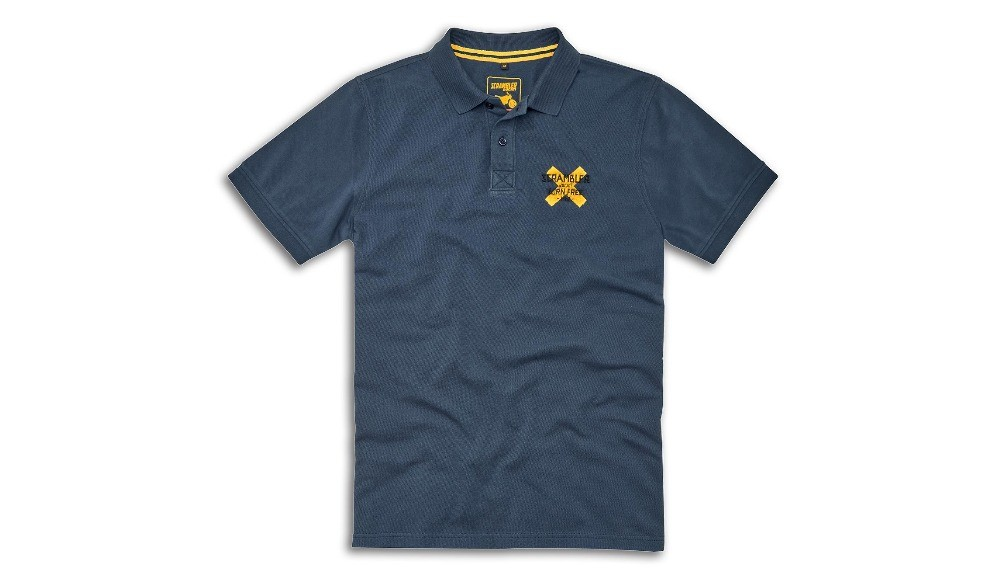 Scrambler Short-Sleeved Polo Shirt
