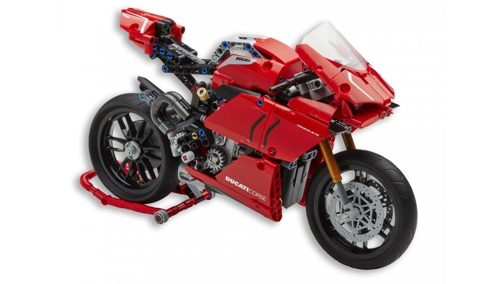 Panigale V4 R LEGO Technic Bike Model